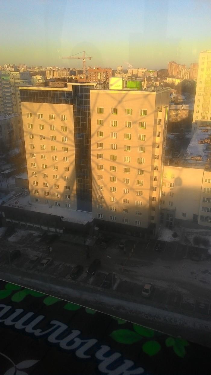 Тень Колесо обозрения, Уфа, Фотография, Тень