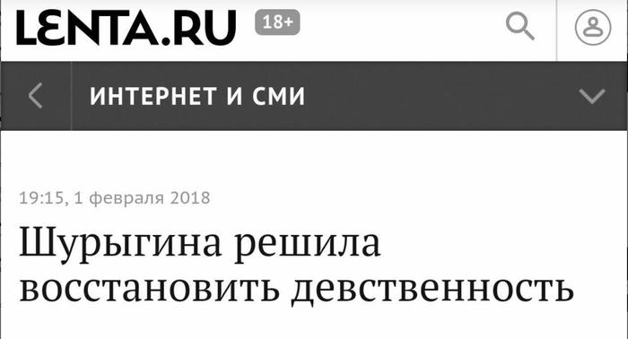 Дважды в одну Шурыгину не войдешь Диана Шурыгина, Абсурд, Lenta ru, Юмор
