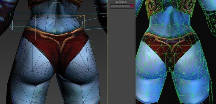 Обновление DOTA 2 – «Увеличена плотность сетки у QoP и WR» Dota, Queen of pain, Windranger, DOTA 2, Длиннопост, Игры