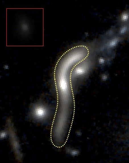 Природный телескоп, размером с галактику - 2 Гравитационная астрономия, Гравитационная линза, Галактика, Альберт Эйнштейн, Темная материя, Длиннопост