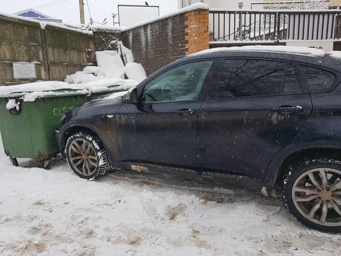 """Из серии """"я паркуюсь как кретин"""" Олень, Авто, Парковка, Смоленск, Длиннопост"""