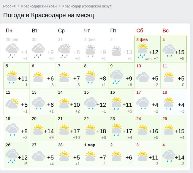 То чувство, когда потерялся во времени Краснодар, Погода, Потепление