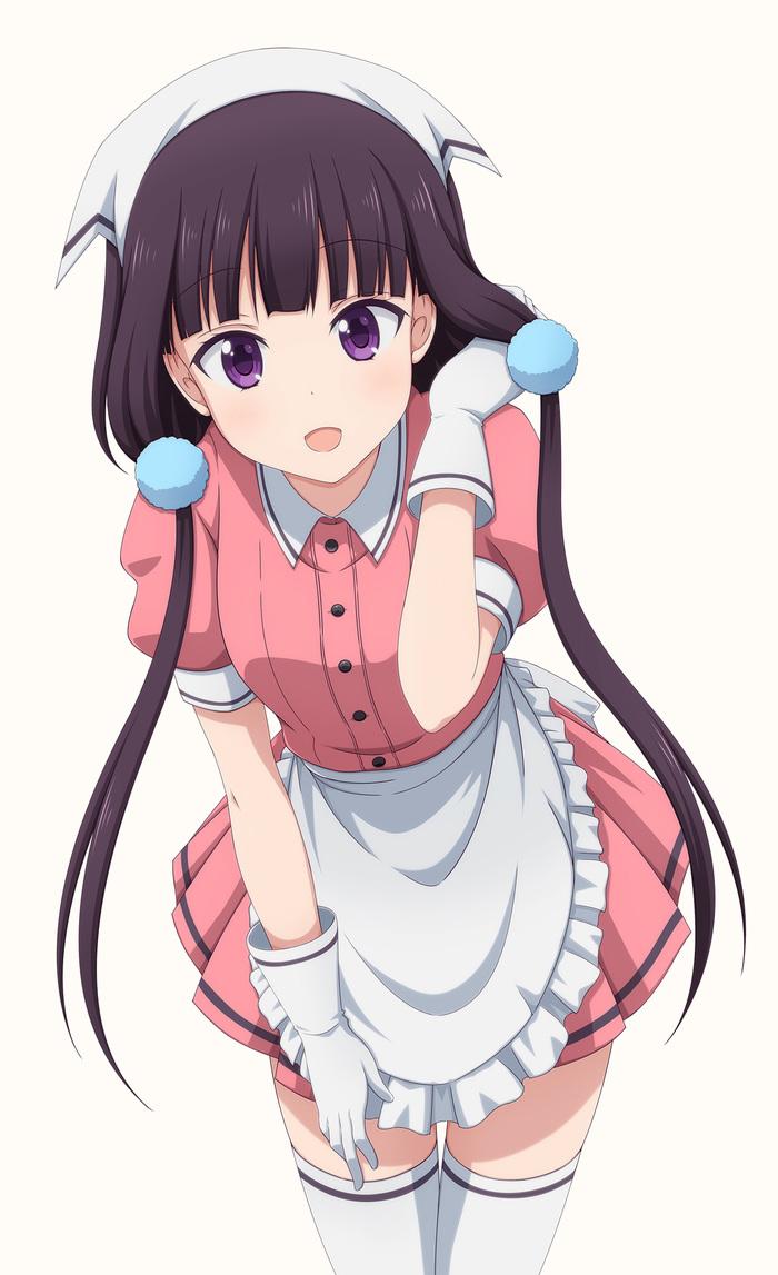 Maika Blend s, Sakuranomiya Maika, Anime Art, Аниме, Длиннопост