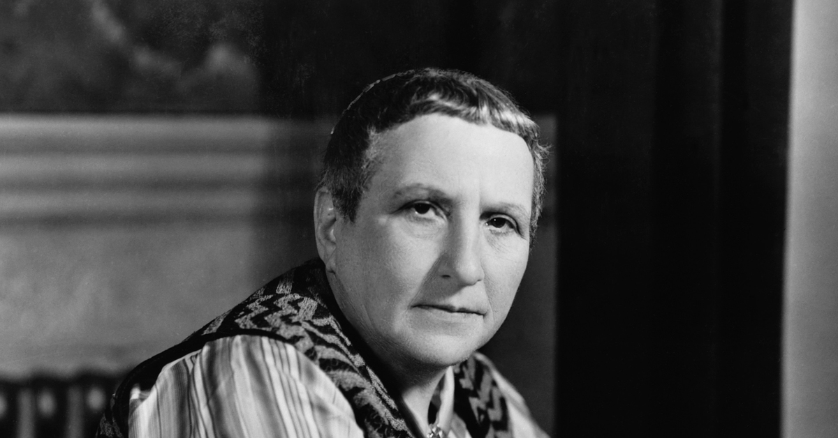 a biography of gertrude stein Gertrude stein came from unassuming beginnings in pennsylvania to become a central figure in the birth and development of modern art this biography looks at the life, times and career of gertrude stein published: bookcaps on may 23, 2014 additional information about modernist mentor.