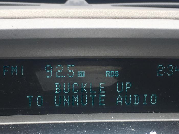 Тачка-шантажист Машина, Авто, Звук, Ремень безопасности