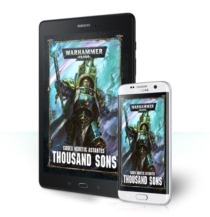 В Сеть утёк кодекс для Thousand Sons Warhammer 40k, Codex, Утечка, Thousand Sons