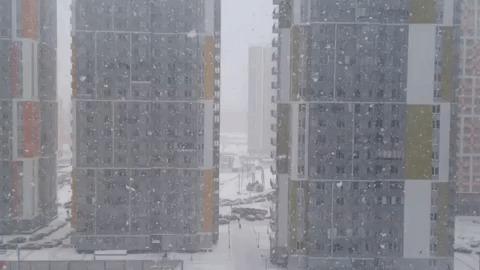 Как идет снег в Австралии.