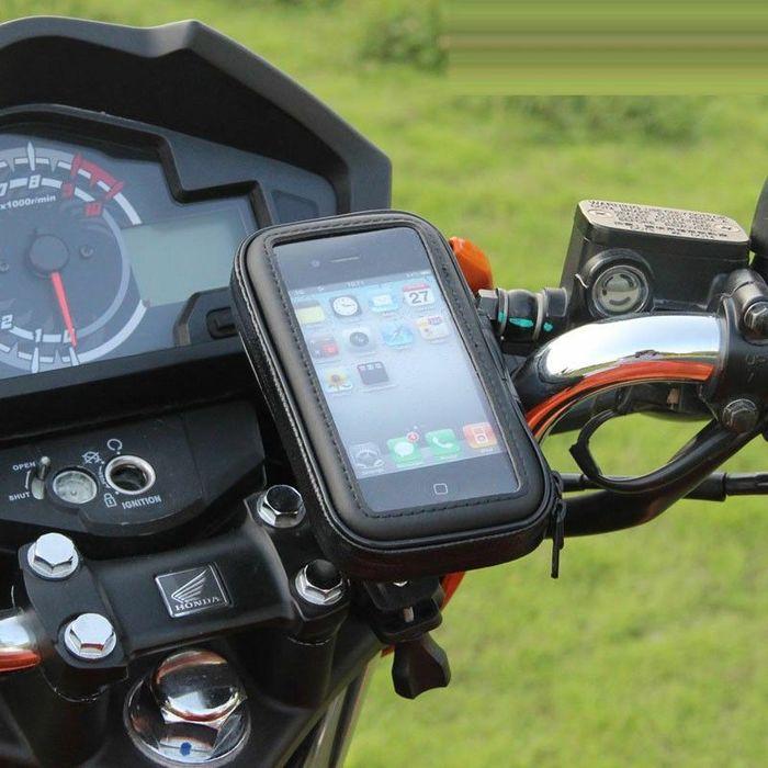 Использование смартфона в качестве навигатора - мой сетап Мото, Мототуризм, Туристический мотоцикл, Навигация, Навигатор, Смартфон, Видео, Длиннопост