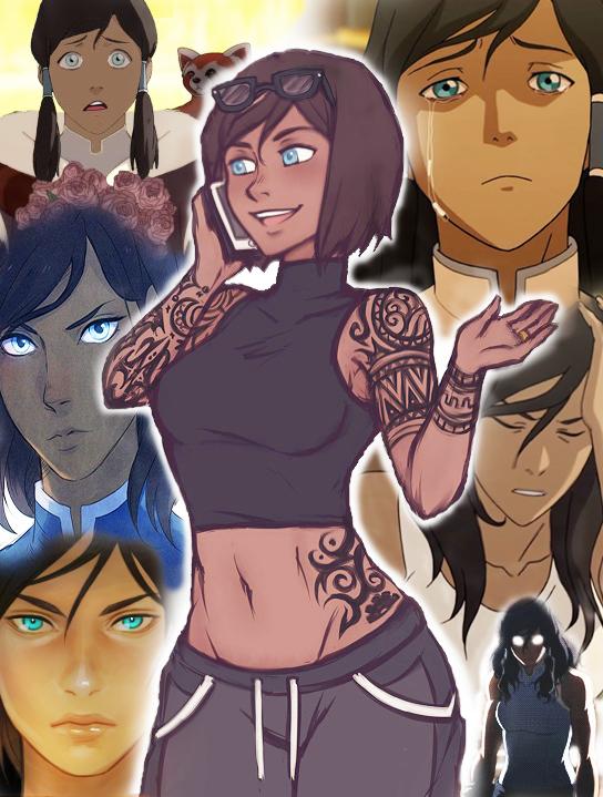 Korra! Korra, Аватар: Легенда о Корре, Мультфильмы, Anime Art, Арт, Casual