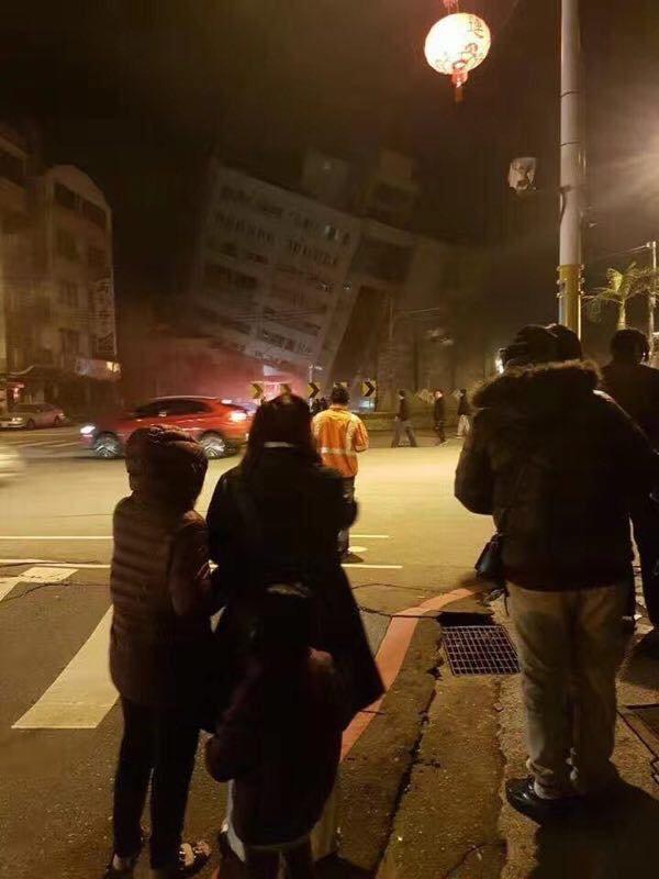 Землетрясение на Тайване Тайвань, Землетрясение, Обрушение, Катастрофа, Длиннопост