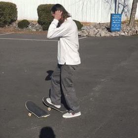 Сломанный скейт не проблема Reddit, Гифка, Скейт