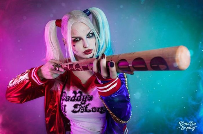 Harley Quinn - by - Kinpatsu Косплей, DC, Харли Квинн, Девушки, Отряд Самоубийц, Kinpatsu