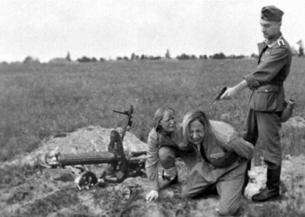Женщины в плену Длиннопост, История, Historyporn, Плен, Женщина