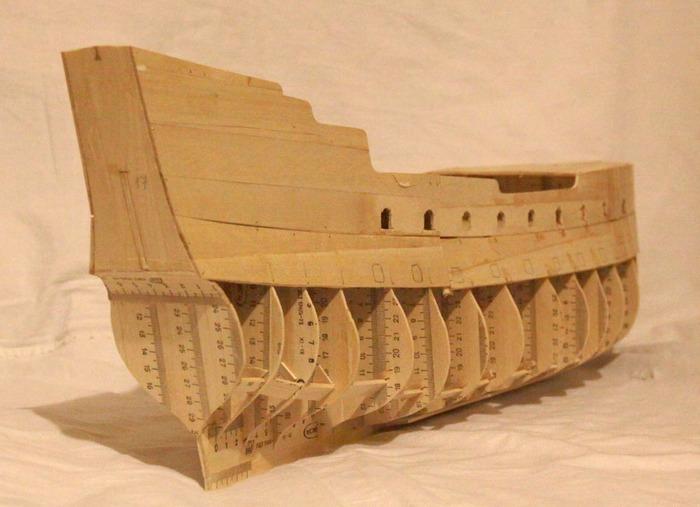 Корабль-призрак от отечественного мастера Летучий голландец, Масштабная модель, Пираты карибского моря