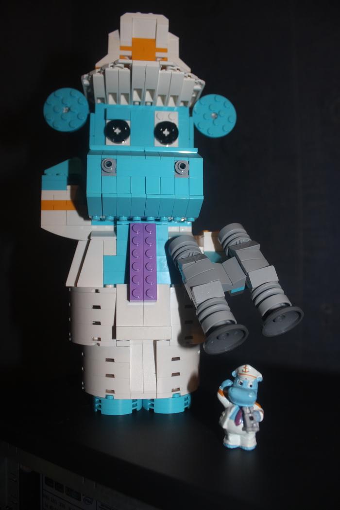 Киндер бегемотик из Lego Lego, Киндер-Сюприз, Ностальгия, Бегемот, Длиннопост