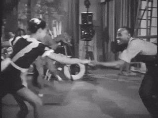 Линди хоп - стиль джаз танца 40х