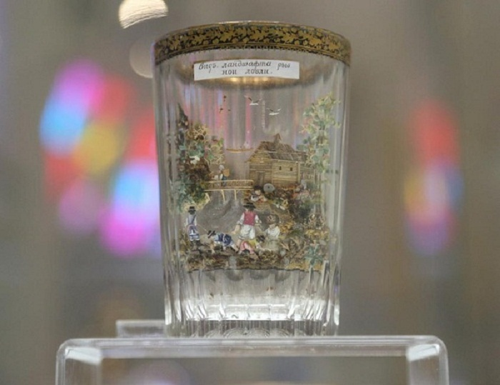 Знаменитые стаканы крепостного Вершинина, секрет которых не разгадали за 200 лет Лига историков, русский мастер, Вершинин, 19 век, длиннопост