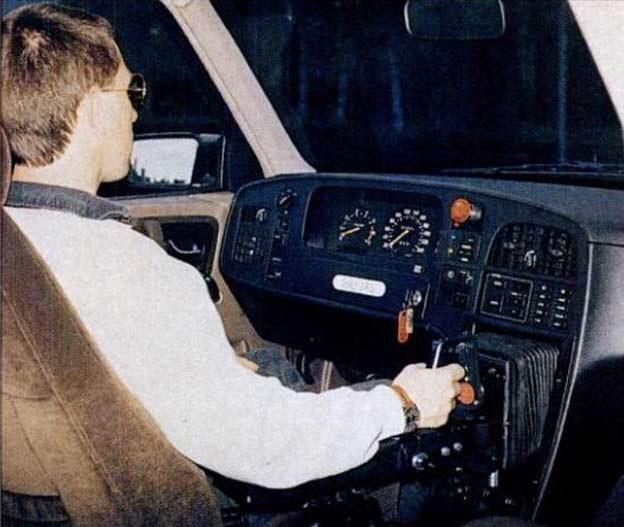 Руль в автомобиле Saab Saab, Автомобильная история