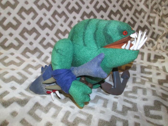 Плюшевый Тайдхантер Dota, Tidehunter, Мягкая игрушка, Ручная работа, Длиннопост
