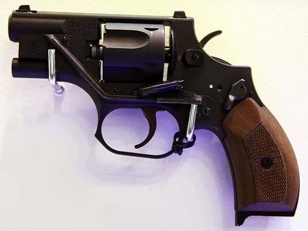 """Пистолет """"Ворчун""""- последняя разработка великого Стечкина Оружие, Стечкин, Револьвер, Длиннопост"""