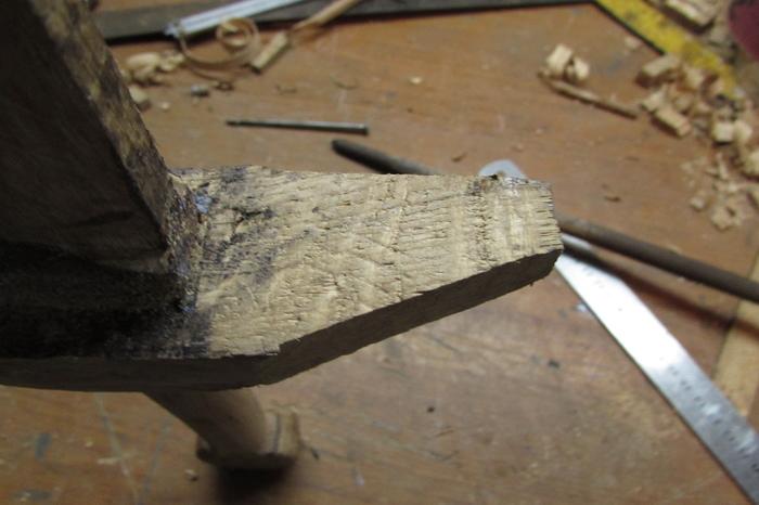 Как сделать саблю из дерева