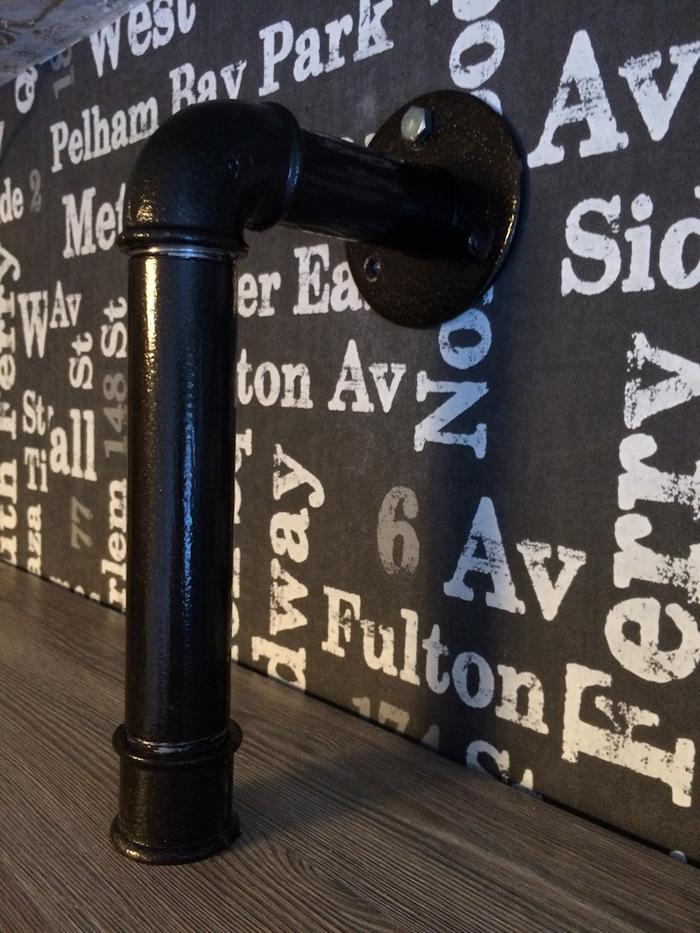 Полка и письменный стол в стиле Лофт своими руками, длиннопост, мебель, не мое, drive2