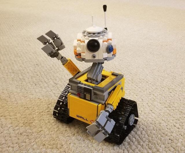 BB-8 захватывает мир Lego, Bb-8, Star wars, Wall-e, Death Star, At-At, Reddit, Длиннопост