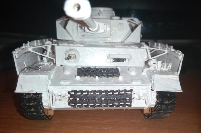 Модель Pz- IV H в масштабе 1:35. Моделизм, Танки, Pz IV, Длиннопост