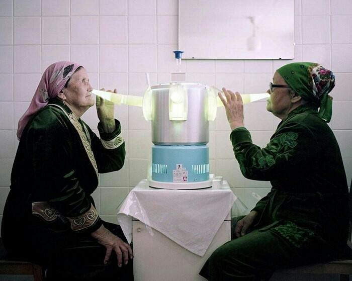 «Странный мир» советских санаториев глазами британской журналистки. Санаторий, Отдых, Фотография, Длиннопост