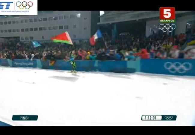Белорусские девчонки завоевали золото в биатлонной эстафете на олимпиаде! Биатлон, Длиннопост, Спорт, Олимпиада, 2018, Золотая медаль, Белорусы