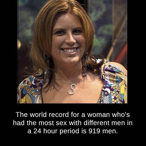 Секс рекорд число партнеров видео