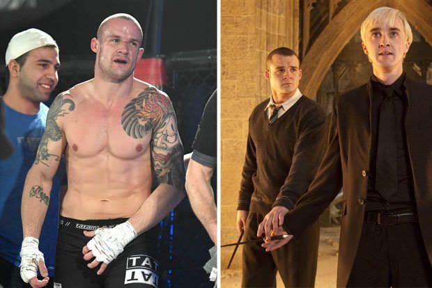 """Актёр из """"Гарри Поттера"""", ставший бойцом ММА: """"Спорт помог отойти от той славы"""" Гарри Поттер, Грегори Гойл, Mma, Боевые искусства"""