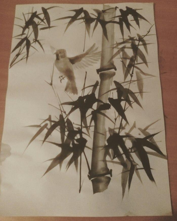 Живопись на войне живопись, китай, донецк, вдохновение, китайская живопись, длиннопост