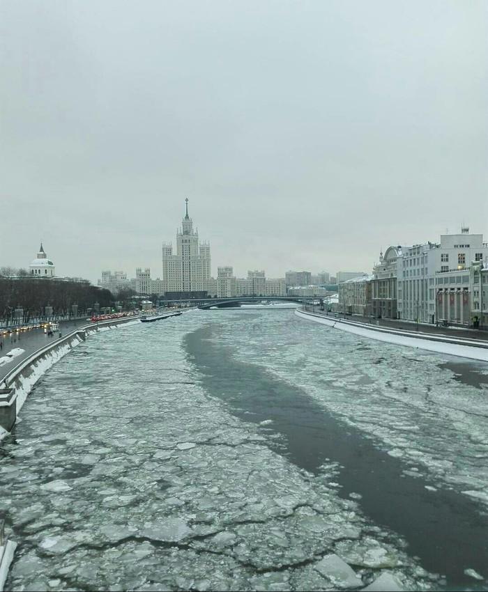 Москва Москва-Река, Зима