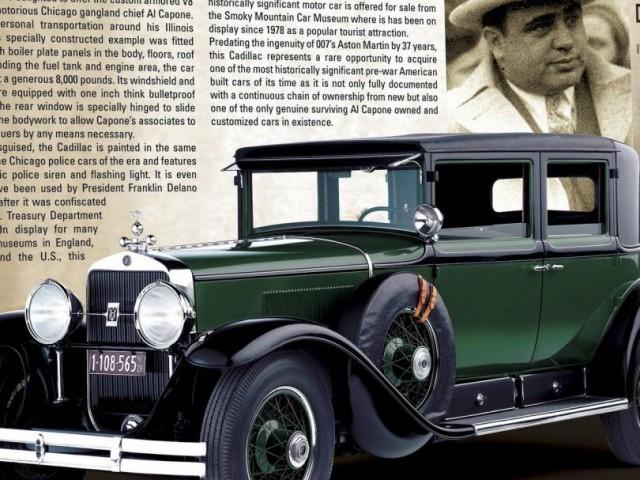 Бронированные автомобили Аль Капоне. Бронированные автомобили, Аль Капоне, VIP-броневика, Cadillac, длиннопост