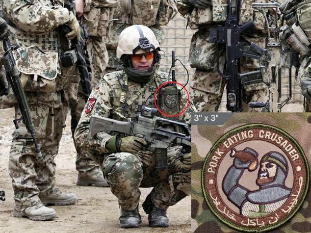 Ave porcus! Deus vult suilla cibum! Армия, 9gag, Солдаты, Юмор