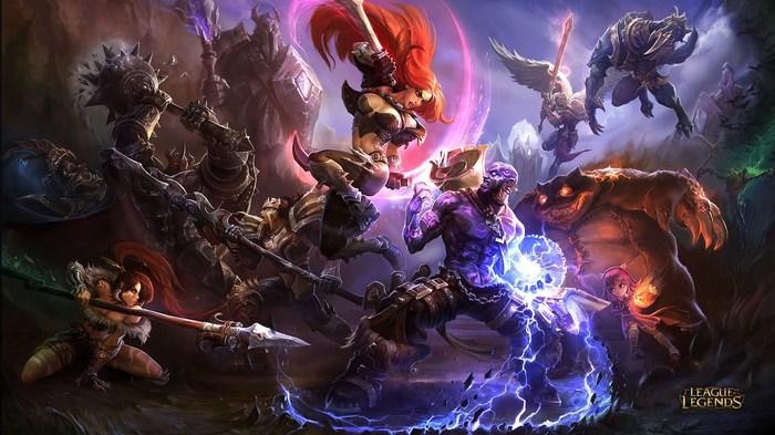 "Wallpapers ""League of Legends"" HD Арт, Обои на рабочий стол, Hd, League of Legends, LOL, Длиннопост"