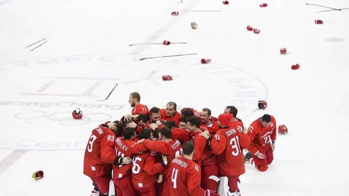 Гаспарян: МОК попытается наказать русских хоккеистов за исполнение гимна Хоккей, Олимпиада, Мок, Сборная России по хоккею, Наказание, Гимн, Армен Гаспарян, Политика, Длиннопост