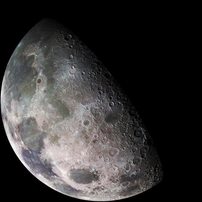 Вода на поверхности Луны может находиться в связанной форме Луна, Вода, Наука, Космос, Длиннопост