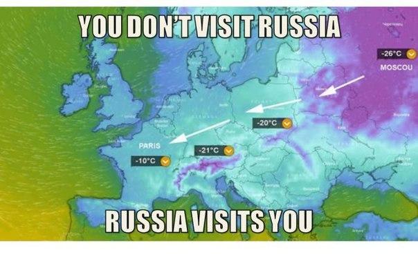 Если ты не посещаешь Россию, Россия посещает тебя