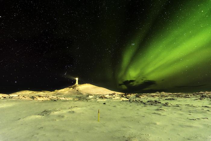 Северное Сияние Исландии