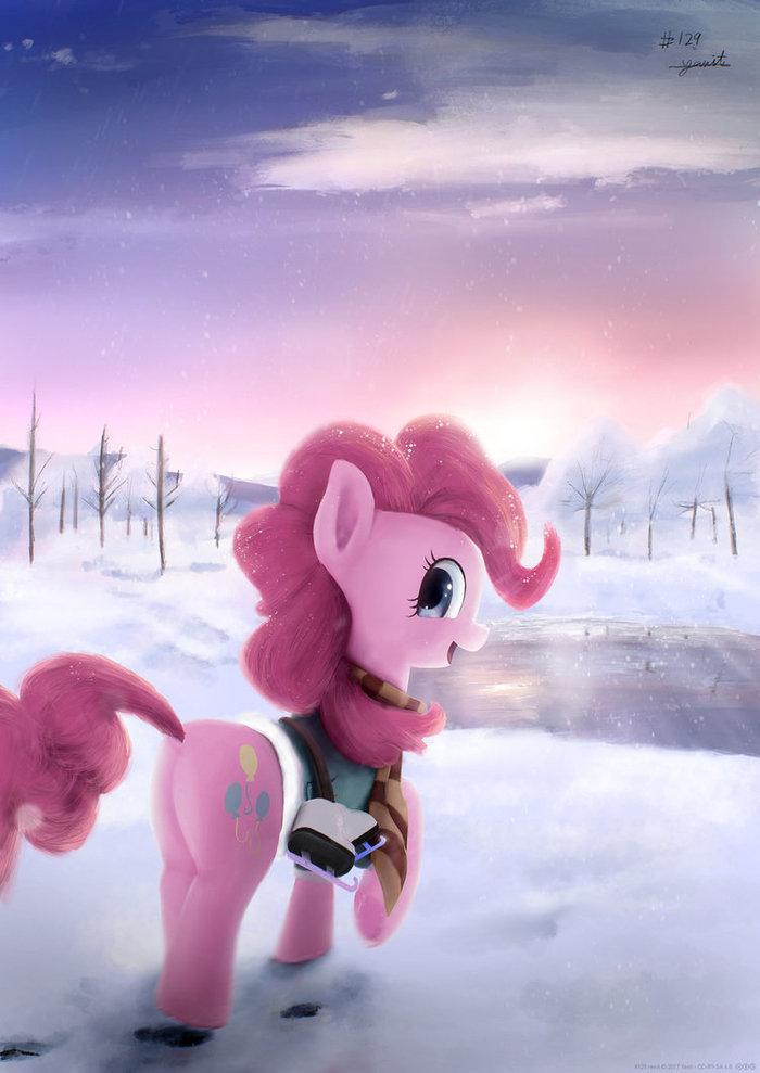 Winter Wrap-Up My little pony, Pinkie Pie