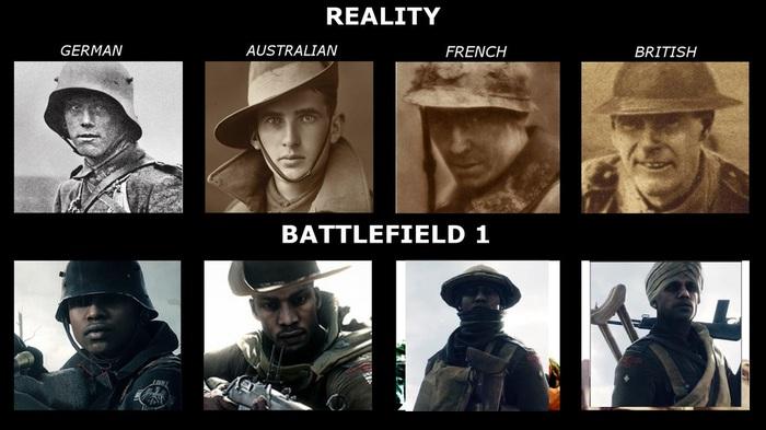 """Battlefield 1 или """"Черная Пантера"""" по игровому. Battlefield 1, Игры, Что то не так?, Длиннопост, Толерантность, История, Реализм в играх"""