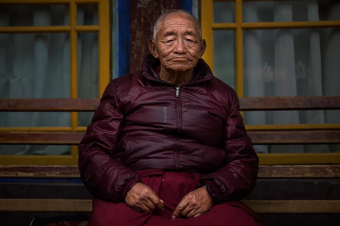 Тибет Тибет, Гималаи, Эверест, Тибетский мастиф, Буддийские монахи, Длиннопост, Собака