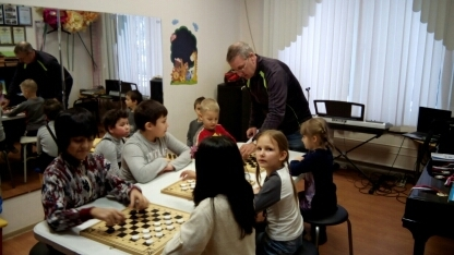 Районные соревнования по шашкам среди детей Турнир, Шашки, Дети