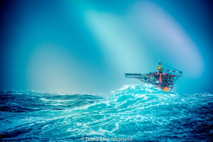 В офшоре здорово, говорили они Море, Офшор, Волна, Нефть
