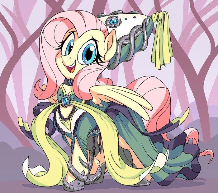 Forest Princess My little pony, Fluttershy