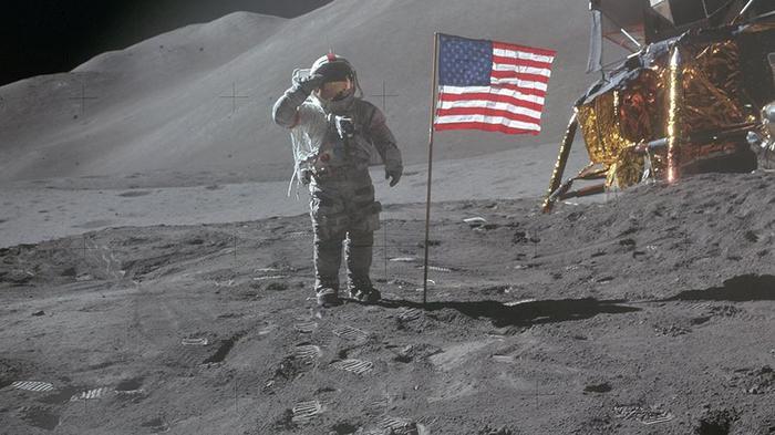 NASA уличили в инсценировке четвертой высадки на Луну Срач, NASA, Американцы на луне