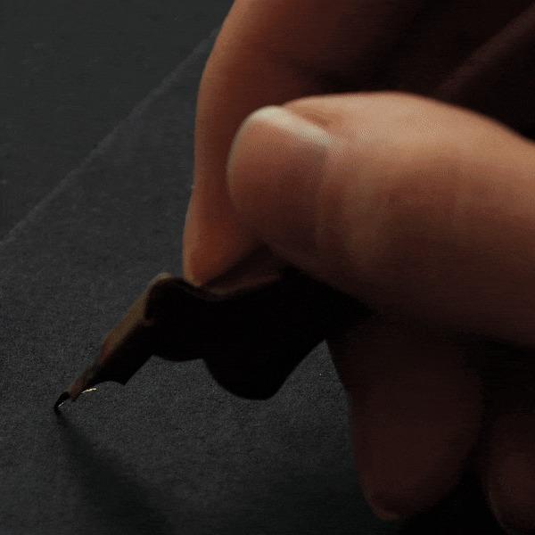 Каллиграфия в стиле Spencerian Каллиграфия, Spencerian script, Гифка