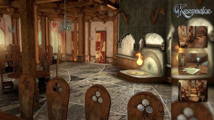 Full HD обои по игре Keepsake Обои на рабочий стол, Фэнтези, Длиннопост, FullHD, Картинки, Компьютерные игры